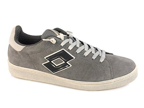 Lotto S5794 - Zapatillas de ante para hombre gris gris