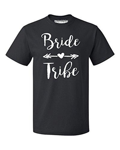 Wedding Bridal Party Gear Bride Tribe Men's T-Shirt, L, -