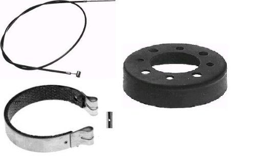 Mini Bike & Go Kart Brake Band & Drum with 60'' Cable