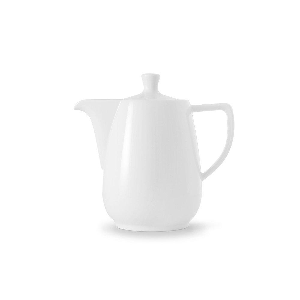 Coffee Pot in White Size: 0.6 Litre Friesland Porzellan