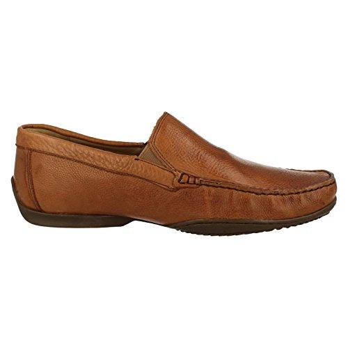 Anatomic Gel Tavares da uomo Casual Slip On scarpe, marrone (Cognac Toast), 45