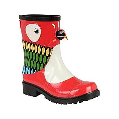 b94ea628f644 Juju Jellies Womens Ladies X Kigu Wellies Wellington Rubber Snow Boots  Printed  Amazon.co.uk  Shoes   Bags