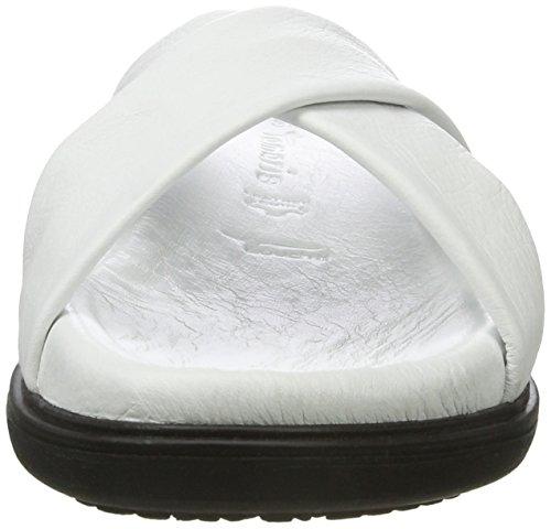 Blanc white 100 Femme Ouvert 27211 Tamaris Bout Sandales CnqwX10Y
