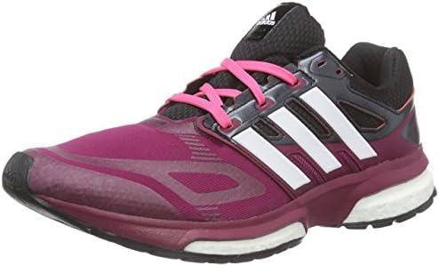 adidas response boost techfit w - Zapatillas para mujer, Morado (triber/chwite/cblack), 37 1/3: Amazon.es: Zapatos y complementos