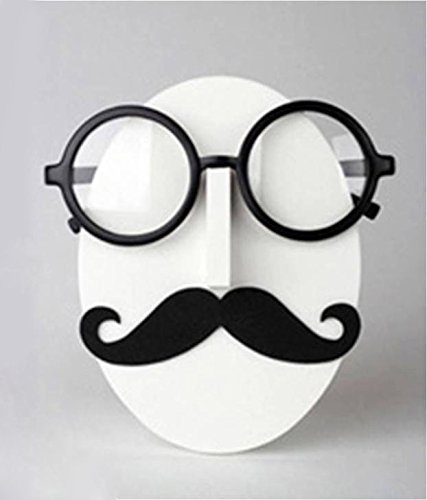 Mustache Beard Face Glasses Sunglasses Spectacle Display Stand Holder Home - Sunglasses Wholesale Display