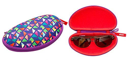 ZIPIT Colorz Box Glasses Case, Purple Photo #1