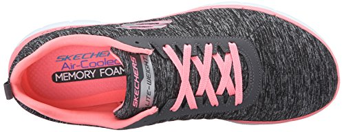 Skechers Women's Flex Appeal 2.0 Multisport Outdoor Shoes, Black Black (Bkcl)