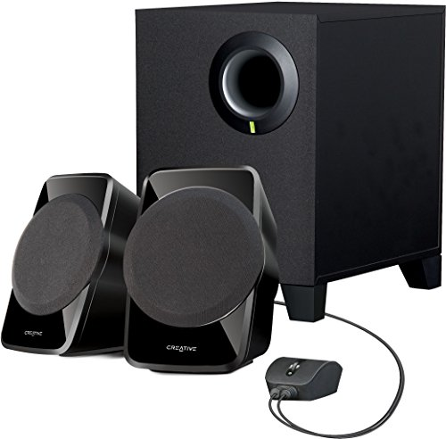 Creative SBS A-120 2.1 Channel Multimedia Speaker System (Black)