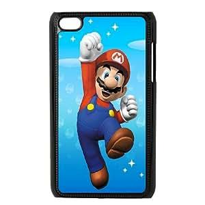 iPod Touch 4 Case Black Super Mario 001 WON6189218039461
