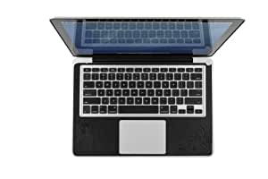 Twelve South SurfacePad for MacBook, black pattern | Luxury leather cover for 15-inch MacBook Pro