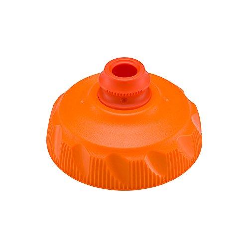 Polar Bottle Zipstream Insulated Water Bottle High Flow Cap - Tangerine, One Size