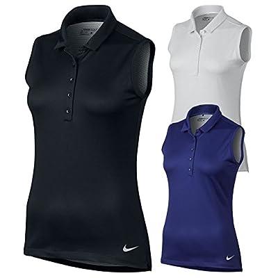 NIKE Precision Texture 1 Sleeveless Golf Polo 2017 Women