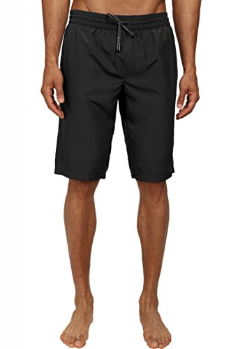 Silwave Men's Classic Swim Trunk, Black, Medium ()