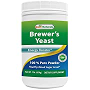 Best Naturals 100% Pure Brewers Yeast Powder - 16 oz - Supports For Increased Breast Milk Supply During Breastfeeding, Lactation, digestive health