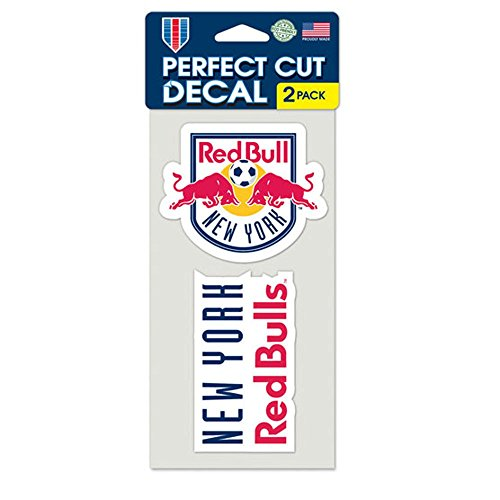 fan products of SOCCER New York Red Bulls Perfect Cut Decal (Set of 2), 4