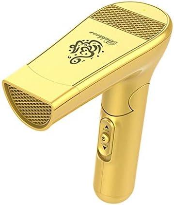 お香立て アラビア語USBワイヤレスPortbaleアロマディフューザー2000mAhのバッテリー容量アロマバーナーミニ折り畳み式ハンドヘルドアロマセラピーデバイス LKYJP (Color : ゴールド)