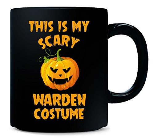 This Is My Scary Warden Costume Halloween Gift - Mug]()