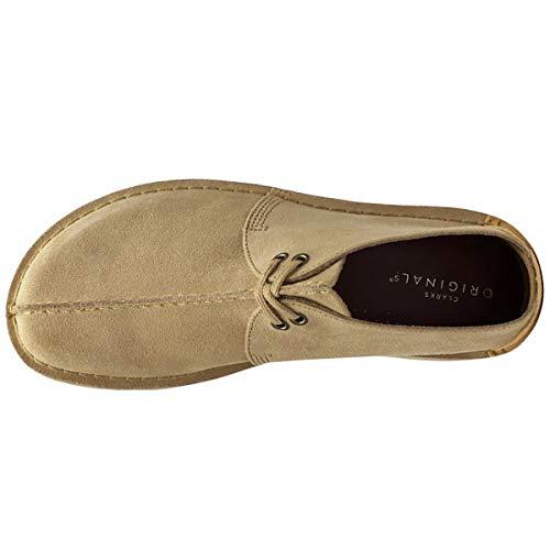 Desert Light Tan Clarks Trek Originals Mujer Suede Zapatos qwY8Eax