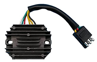 Generic Voltage Regulator Rectifier for Arctic Cat Wildcat 700 EXT ZR 580 Pantera 550 Prowler 440 Mountain EFI L/C Deluxe 1991 1992 1993 1994 1995 1996 Replace 3003-875 3004-517 3007-912 New Z50