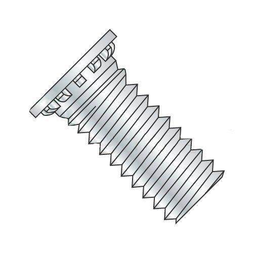 M6-1.0 x 15 mm Self Clinching Studs//Steel//Zinc Carton: 2,000 pcs