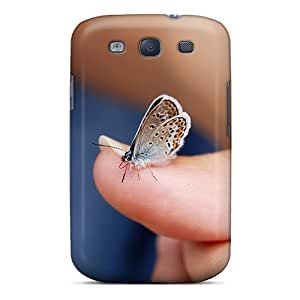 Cute High Quality Galaxy S3 Butterfly Finger Animal Case