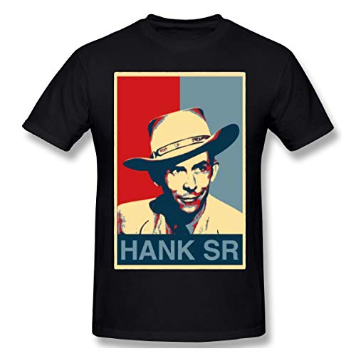 Hank Williams Sr Country Music Man Suitable XXL Black (Jett Williams And Hank Williams Jr Relationship)