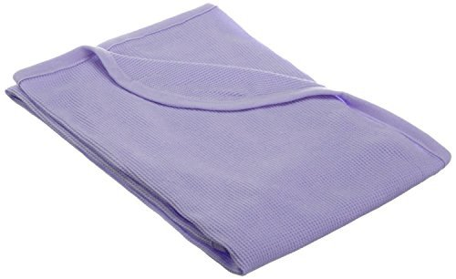 TL Care 100% Natural Cotton Swaddle/Thermal Blanket, Lavende