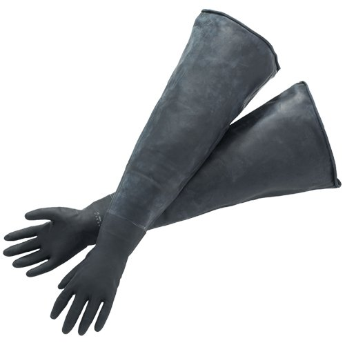 Bel-Art Glove Box Economy Sleeved Size 8 Gloves; For 6 in. Glove Ports (H50029-0010)