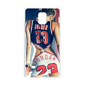 Jordan 23 Brand New And Custom Hard Case Cover Protector For Samsung Galaxy Note4 WANGJING JINDA