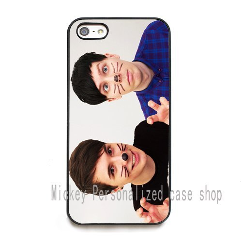 dan and phil phone cases cover for iPhone 5C