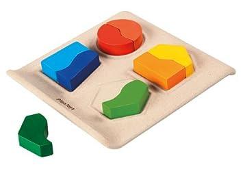 Amazon.com: Plan Toys Shape Matching: Toys & Games