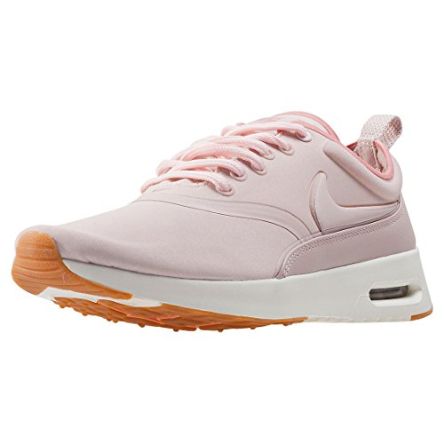 Nike Women Wmns Air Max Thea Ultra PRM, BLACK/BLACK-COOL GREY Blush Pink