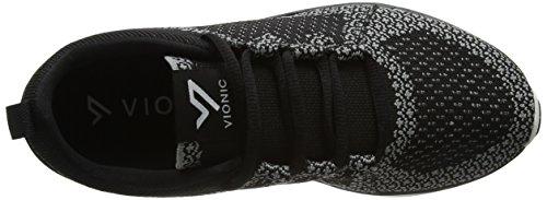 Femme M Black 37 Sierra Noir Chaussures Blkchrl Vionic de Noir EU Fitness Charcoal US PWI8FBwq