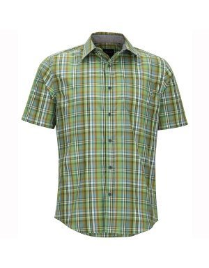 Marmot Dobson Shirt - Men's Wheatgrass, L by Marmot