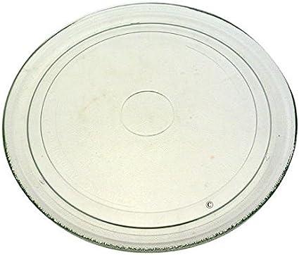Bandeja de cristal de 27,2cm para microondas Whirlpool mwd201 mwd202 mwd207 mwd208 mwd244 mwd246 mwd344 mwd301 mwd307 mwd308 mw344 mwd308wh mwd242/wh y mwd307/wh