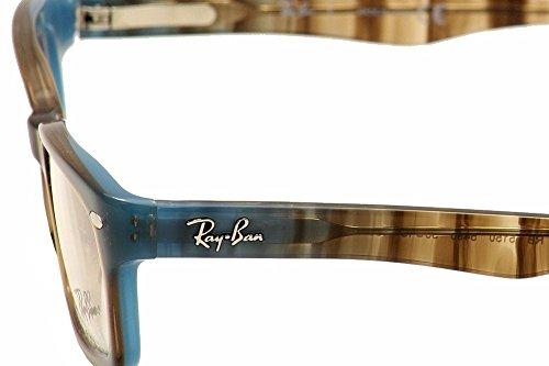 acetato Ban mujer RX Marrón Azul Ray Geométrico 5150 xawI6FqF
