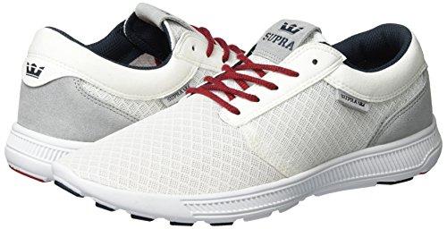 Supra red Hammer white Men''s Run Shoe Weiß Skate white rR7r0vfw