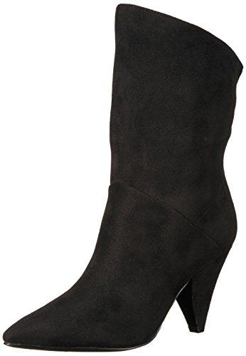 Indigo Rd. Women's Gerald Fashion Boot, Black Fabric, 11 M - Rd Fashion Shop