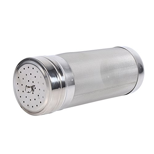 Beer Dry Hopper Filter,304 Stainless Steel Hopper Spider Strainer 300 Micron Mesh Tea Kettle Brew Filter by Fdit (Image #2)