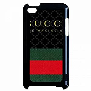 Custom Gucci Back Cover Case For iPod Touch 4th Red Green Stripe Gucci Back