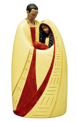 Ebony Treasures Nativity in Cream ()