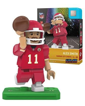NFL Kansas City Chiefs Alex Smith Color Rush Limited Edition OYO Minifigure