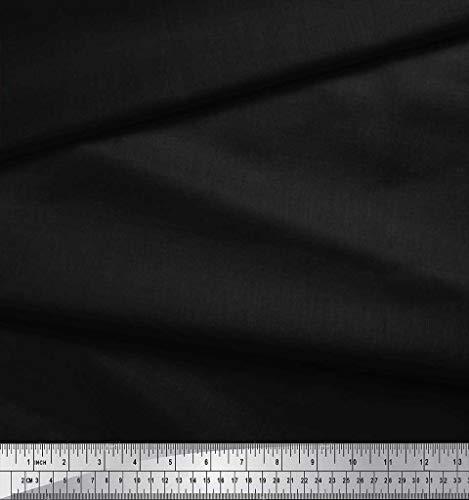 Pouce Teinte Soimoi Rayonne Un Foncée En Large Imprime Jean Meter Bleu 42 De Couleur 1 Noir Tissu T68qwHT