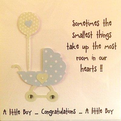 De la tarjeta de niño de madera hecho a mano de regalo para recién ...