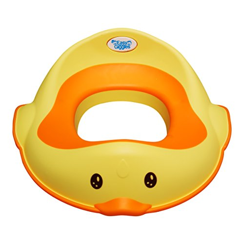 Waddles The Duck Potty by Easy Giggles - The Cutest Potty Training Seat That Fits All Toilets Perfectly and Securely - Designed to be Loved by All Boys and Girls for an Easy Potty Training Experience