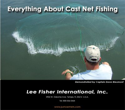 Everything About Cast Net Fishing DVD   B0041DPN6I