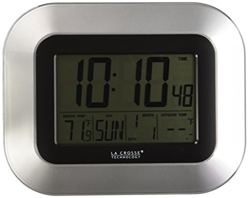La Crosse Atomic Wall with Indoor and Outdoor Temperature