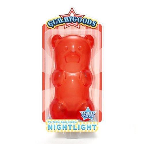 GummyGoods Nightlight - Red Bear Color: Red NewBorn, Kid, Child, Childern, Infant, Baby