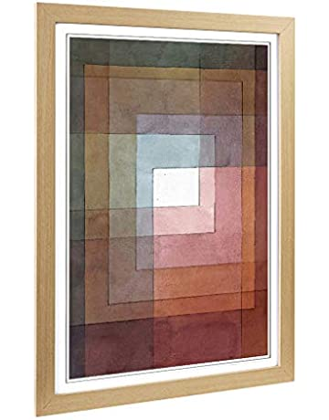 50113d64403d Big Box Art Framed Print of Paul Klee Watercolour Squares Design