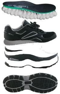 Crivit Sports - Zapatillas de Nordic Walking de Cuero para Mujer Schwarz- Grau 38: Amazon.es: Zapatos y complementos